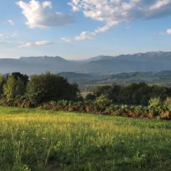 Les Pyrénées vues du Turon - Nay · © stockli