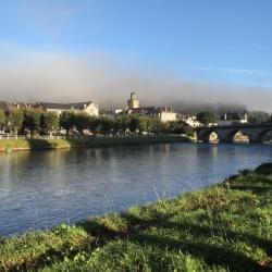 Brumes estivale sur la Bastide