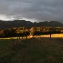 Illumination soleil levant