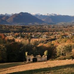 La grange Cayrade en automne - Coarraze · © stockli