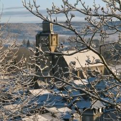 Saint Vincent sous la neige - Nay · © stockli