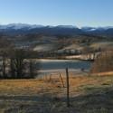 Lever de soleil sur le Piémont