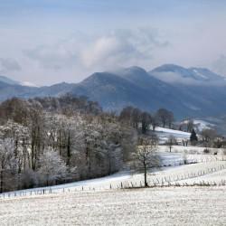 Averse neigeuse sur le val du Landistou - Mifaget · © stockli