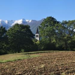 Une église sur le Piémont Béarnais - Asson · © stockli