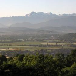 La Plaine de Nay et le Pic du Midi de Bigorre - Baliros · © stockli