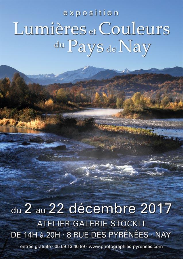 Exposition Lumières & Couleurs du Pays de Nay du 2 au 22 décembre 2017